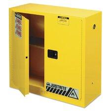 Justrite Key Lock Standard Safety Cabinet