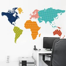 Imagineer Patterns of the World Wall Decal