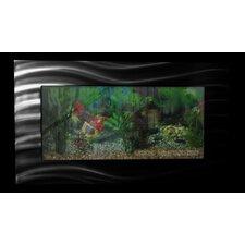 Aussie 10.25 Gallon Wall Mounted Aquarium Tank