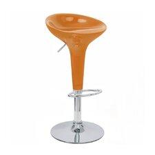 Alpha Adjustable Height Swivel Bar Stool (Set of 2)