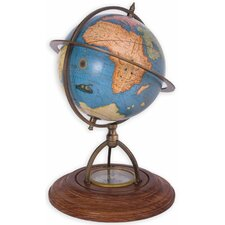 Globe with Compass Stand