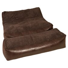 Chimayo Bean Bag Lounger & Bench Set