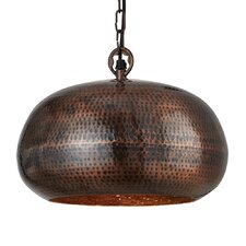 Bluestone 1 Light Bowl Pendant