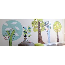 Enchanted Forest Trees Wall Decals
