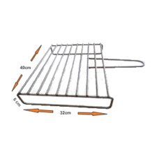 "15.75"" BBQ Grill for Wood Fire Oven"