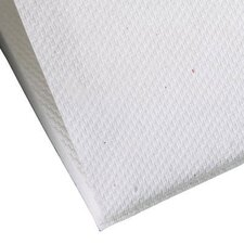 Wypall L10 Sani-Prep Dairy Towels Single fold, 200/Pack in White
