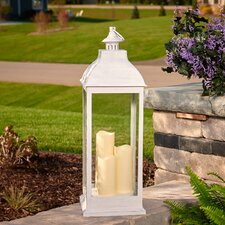Avalon Triple Pillar LED Candle Lantern