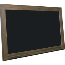 School Style Composite Wall Mounted Non-Magnetic Chalkboard