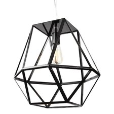 Hexagonal 1 Light Outdoor Pendant