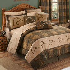 Plaid Comforter Set