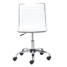 Mid-Back Leather Task Chair