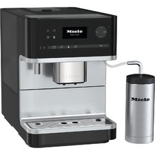 Miele CM6 Automatic Espresso Maker with Milk Flask