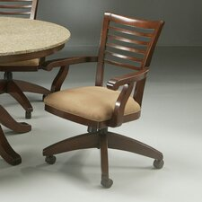 Grand Vista Caster Chair in Cosmo Amber