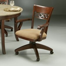 Horizon Caster Chair in Cosmo Amber