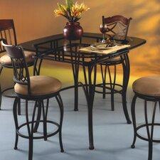 "Lexington 36"" Glass Pub Table"