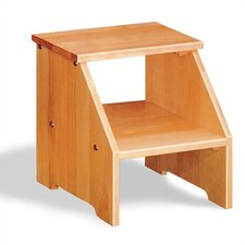1100 NY Series 2-Step Wood Solid Adirondack Birch Step Stool