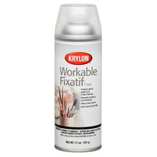 Clear Workable Fixatif Spray (Set of 6)