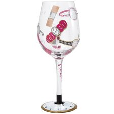 5 O'clock Somewhere for Her All Purpose Wine Glass