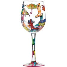 Here Comes Summer All Purpose Wine Glass