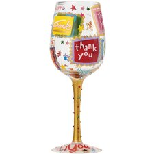 Thank You, Thank You All Purpose Wine Glass