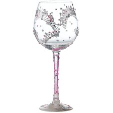 Superbling Princess All Purpose Wine Glass