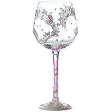 Superbling Princess All Purpose Wine Glass