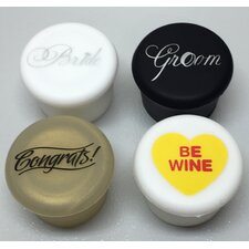 4 Piece Wine Sealer Set