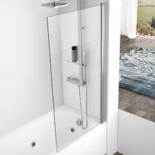 Aurora 150cm x 85cm Pivot Bath Screen
