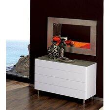 4 Drawer Dresser with Mirror