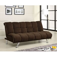 Colosy Tufted Padded Corduroy Sleeper Sofa