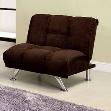 Colosy Tufted Padded Corduroy Convertible Chair