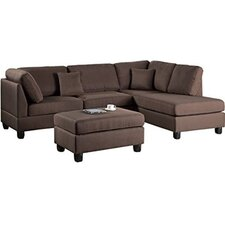 Lucas Reversible Chaise Sectional