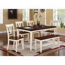 Pamela 6 Piece Dining Set