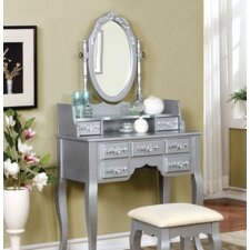 Lisa Vanity Set with Mirror