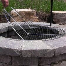 Foldable Cooking Fire Pit Grate