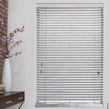 "2"" Blanc Faux Wood Blind"