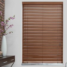 "2"" Teak Faux Wood Blind"