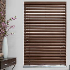 "2"" Nutmeg Faux Wood Blind"