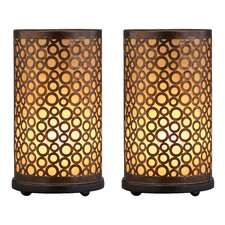 "Amber 15"" Table Lamp (Set of 2)"