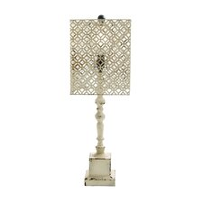 """Rustic Wooden 29"""" Table Lamp"""
