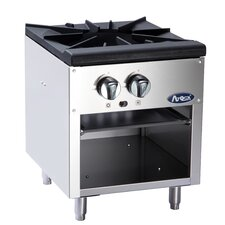 Single Gas Stock Pot Stove