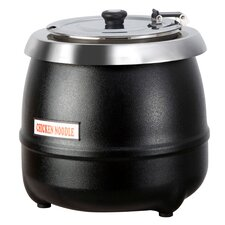 10.5 Qt Stainless Steel Electric Soup Kettle