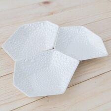 3 Piece Large Geometric Ring Dish Set in Crawl