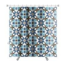 Delta Abstract Geometric Islamic Wallpaper Arabic Colorful Premium Shower Curtain