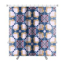 Delt Islamic Wallpaper Arabic Colorful Geometric Premium Shower Curtain