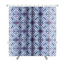Delta Islamic Wallpaper Arabic Colorful Geometric Premium Shower Curtain