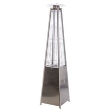 Stand Square Flame Natural Gas Patio Heater