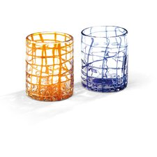 Sole and Ghiaccio 2 Pieces 440ml Water Glass Set