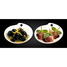 Osiride 2 Piece Plate Set (Set of 2)