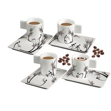 Origini Stesura and Raccolta 8 Piece Cup and Saucer Set